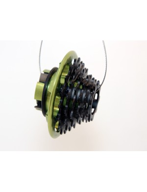 Hope are still working on their integrated freehub body and cassette concept