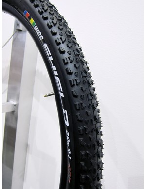 The Ritchey Shield tires are intended as a fast-rolling option for hardpacked trails