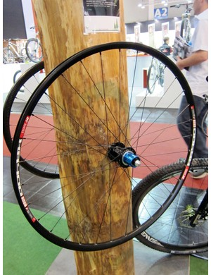 Tune's Skyline mountain bike wheelset pairs their Mig 45 and Mag 150 hubs with a DT Swiss XR 425 rim