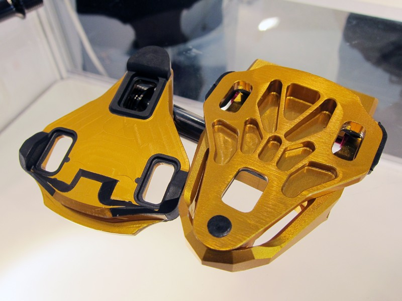 KCNC's new road pedal cleats are said to weigh just 22g each