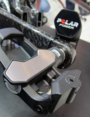 Look's KeO Power pedals were shown in production form at Eurobike.