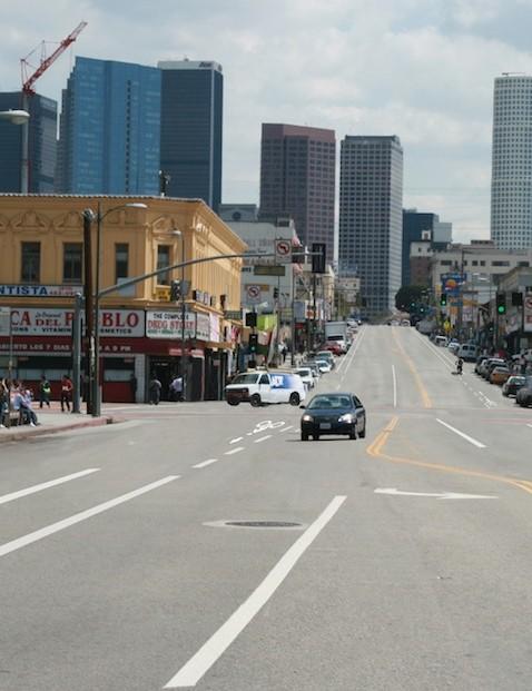 7th Street's new bike lane