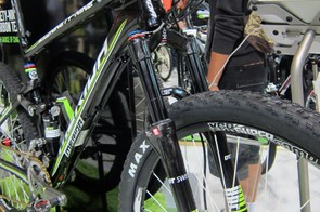 The new Merida Ninety-Nine is designed to work well with either 100mm or 120mm-travel forks.