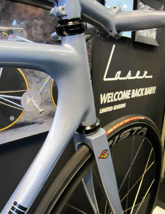 Head tube shaping on the Cinelli Laser Nostro is a near carbon copy of the original.