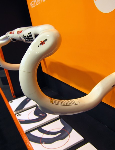Cinelli's hyper-anatomic Neo Morphe bar sports specific shaping for just about any position.