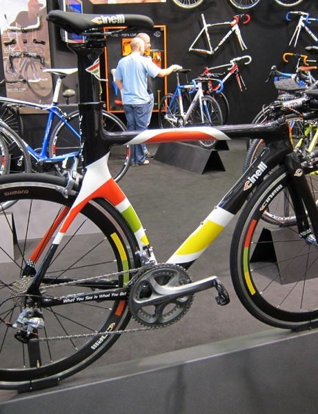 Cinelli's top aero offering for 2012 is the WYSIWYG.