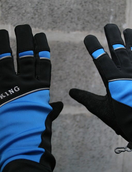 Available in blue, white, red and black, Crane's Winter Cycling Gloves retail for £4.99