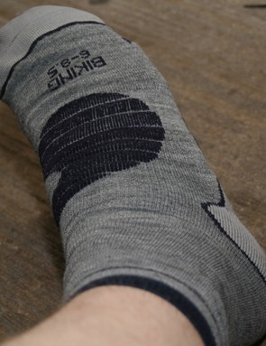 Also from Crane, these winter socks (£3.29) have a 13 percent wool content and an in-built ankle support
