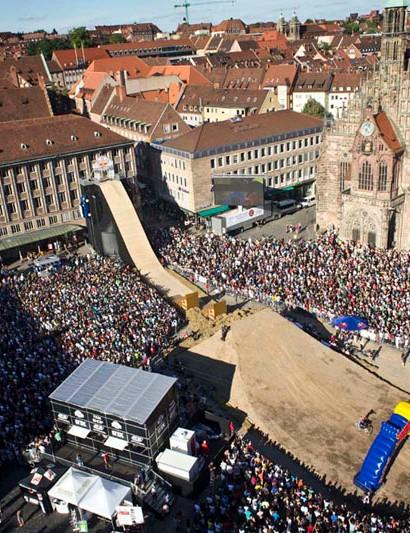 The crowds were big in Nuremburg