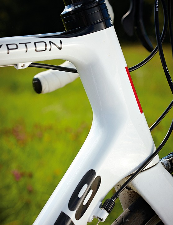 Time will tell whether the 3D head-tube delivers long term