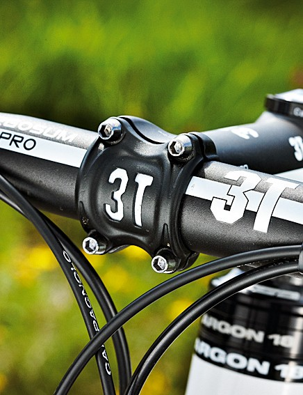 The 3T Ergosum Pro bar is an added bonus to the package