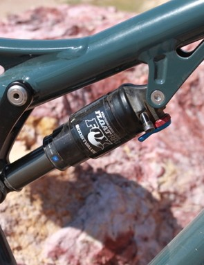 The new Horsethief sports Fox suspension components