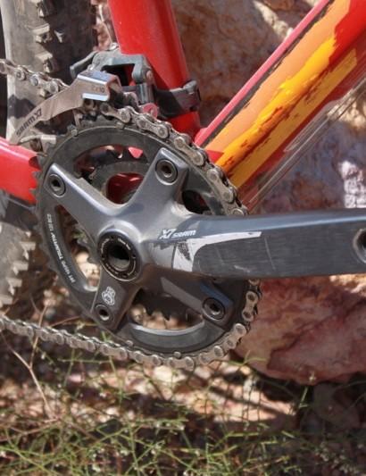 SRAM's X7 2x10 BB30 crank