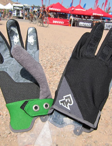 The new Race Face Trigger gloves feature a lightweight mesh back and unpadded palms reinforced with Kevlar