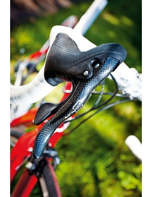Campagnolo's Ergo shifters make changing gears easy
