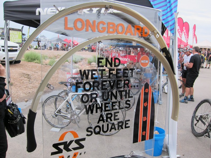 SKS's new Longboard fenders feature more generous lengths for better protection from road spray.