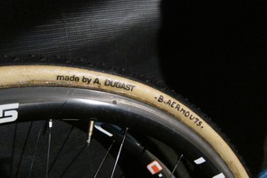 These spare wheels sported the Rhino tread pattern