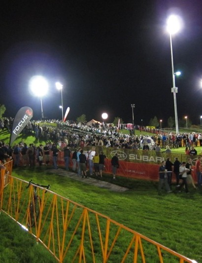The crowds at CrossVegas
