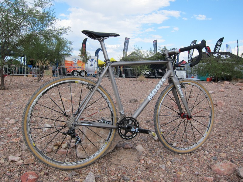 Moots launched its new Psychlo X RSL 'cross racer at this year's Interbike show