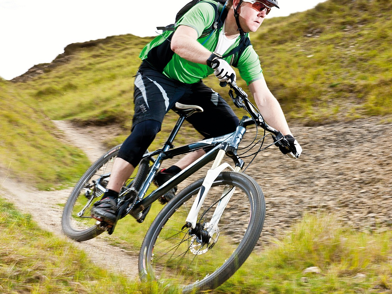 The Alite 2000 rides as well  as the majority of £1000  hardtails we've tested