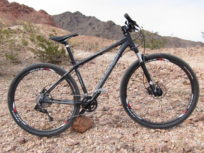 Cannondale's Trail SL2 29er provided platform for our first ride on X5