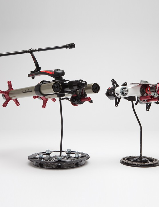 Cyclic Stinger (small), Cyclic Transport (large) by Joe Bologna