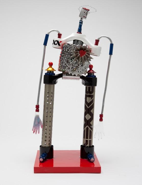 Bikebot Has A Heart by John Balsley