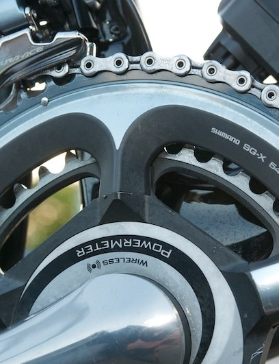 Dowsett prefers a 54 tooth chain ring.