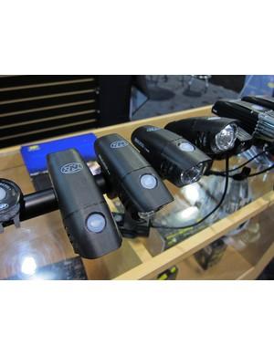 Niterider's new Mako commuter lights use standard AA batteries instead of rechargeable Li-ion cells