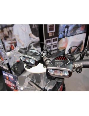 Light & Motion's Seca range is unchanged for 2012