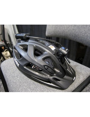 Uvex has partnered with Lupine to integrate the Piko lighting system into its helmet
