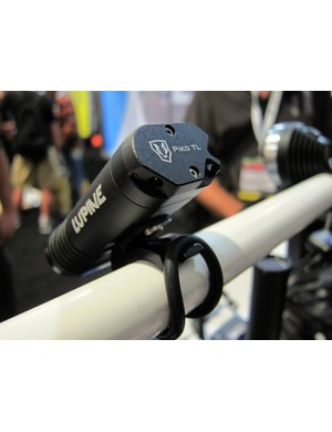 New for 2012 is the Lupine Piko TL all-in-one, complete with a rear lanyard attachment for off-bike use