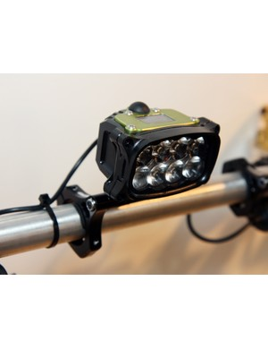 Hope's new Vision R8 uses eight Cree LEDs to produce a claimed 2,000 lumens of light