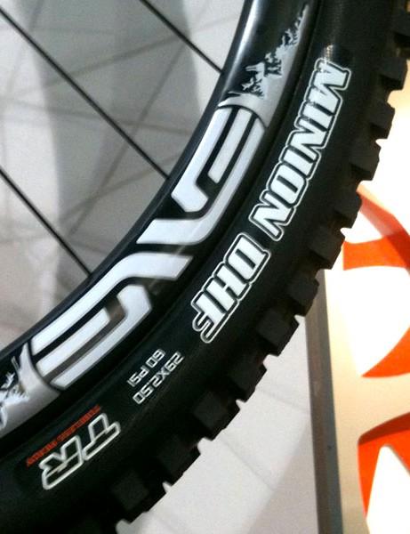 Maxxis' Minion 29er tyre