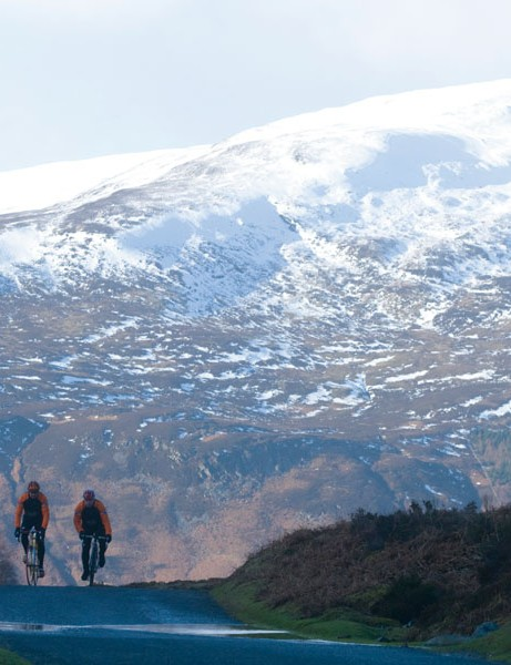 The 80 mile ride takes place in Highland Perthshire, Scotland