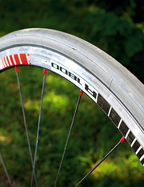 The dt swiss wheels offset more weight with durability