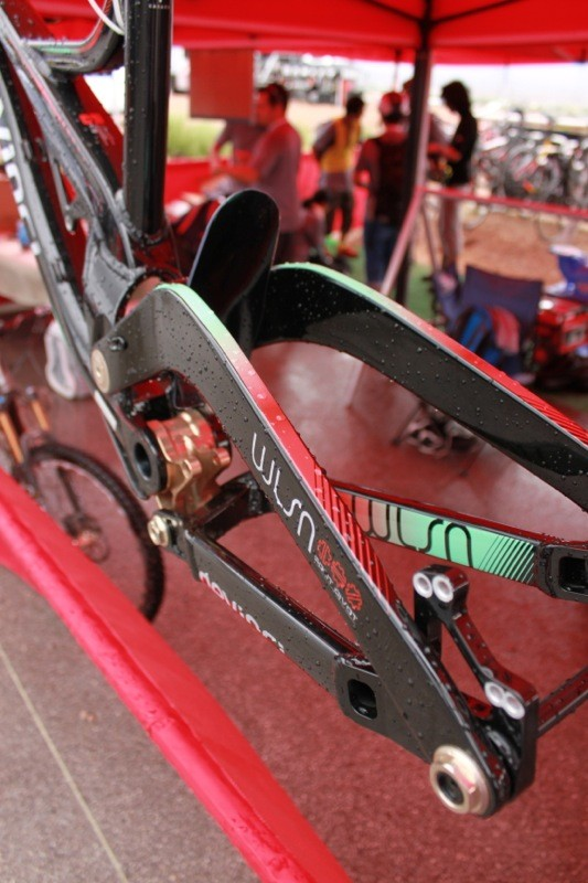 Wilson SL's new carbon rear seat stays are said to boost stiffness by 30-percent