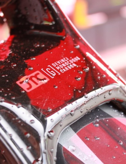 The carbon stays on Wilson required a new shock tune