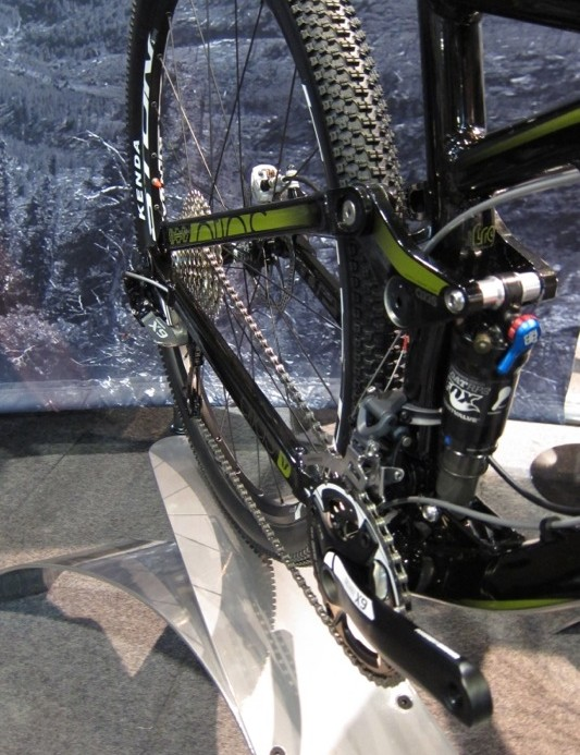 The top model Atlas pairs a SRAM X9 group with Fox suspension components