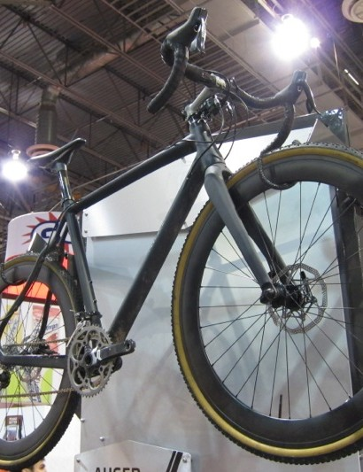 The Auger was one of the best looking disc 'cross bikes we saw at this year's Interbike
