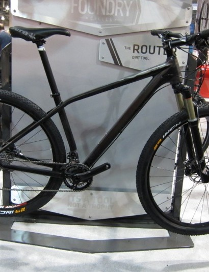The Router 29in monocoque molded mountain hardtail; the frame is claimed at 975g