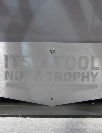 Foundry's motto: It's a tool, not a trophy