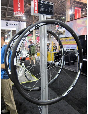 The Stinger 3 is HED's lightest wheelset for 2012.