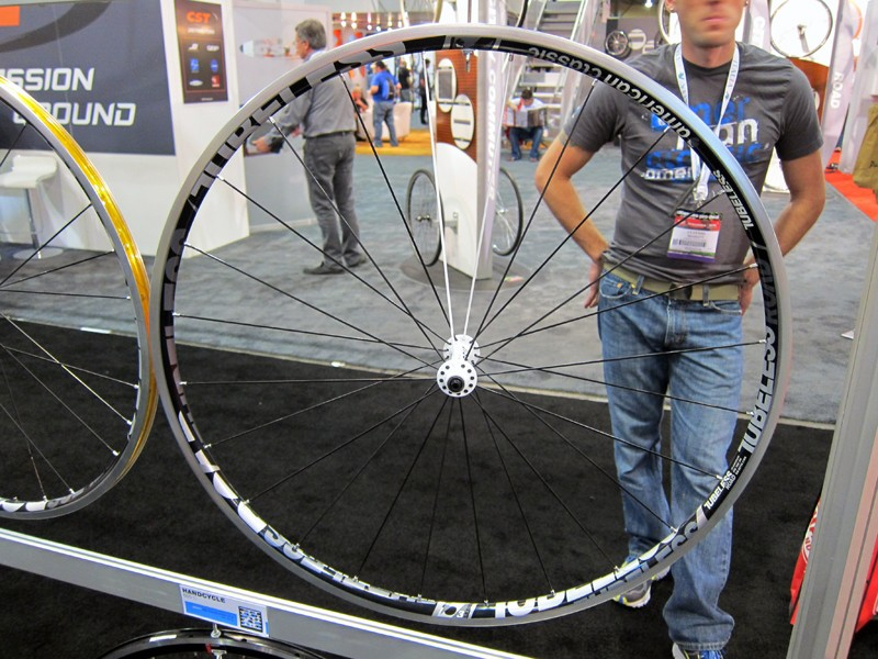 New for 2012 from American Classic is the Road Tubeless road wheels.