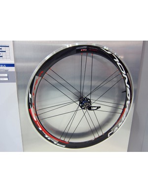 Campagnolo has added a new range of aluminum and carbon-rimmed road wheels for 2012 called Bullet.