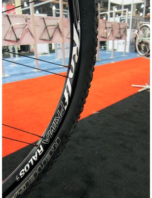 Stan's NoTubes provides a custom-drilled version of its popular Arch rim for Rolf Prima's new Ralos mountain bike wheels.