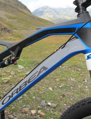 Orbea borrowed much of the Rallon's design to revamp the Occam