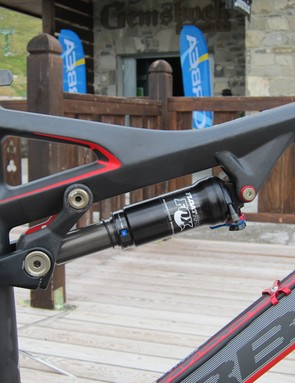 Orbea states they've worked closely with Fox suspension to attain proper valving for the Occam