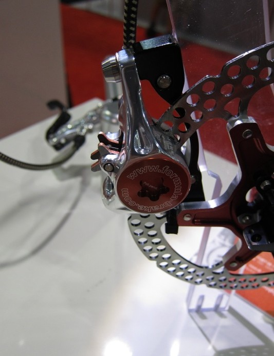 All of Formula's brakes use forged single piece calipers