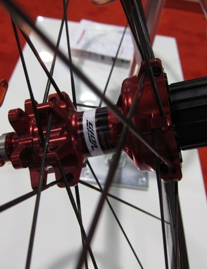 Formula's Volo rear hub has four-pawls and a wide-stance bearing design